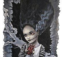 Bride of Frankenstein by DianaLevinArt