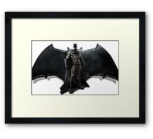 BvS Batman Framed Print