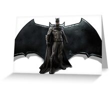 BvS Batman Greeting Card