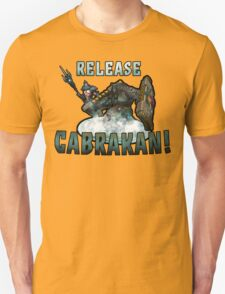 Release Cabrakan! Smite game T-Shirt