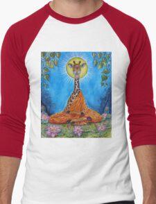 Giraffe Buddha Men's Baseball ¾ T-Shirt