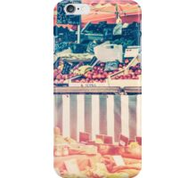 French Farmers Market iPhone Case/Skin