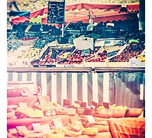 French Farmers Market Photographic Print