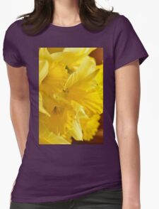 Daffodils, As Is Womens Fitted T-Shirt