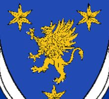 Coat of arms (family crest) for last-name or surname Short (England) . Heraldry banner for your name. Sticker