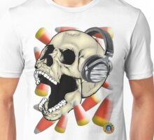 Skull Candy Corn Unisex T-Shirt
