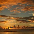 South Pacific sunset - Guam by DKphotoart