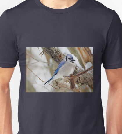 Blue Jay Songbird - Cyanocitta cristata Unisex T-Shirt
