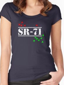 SR71 Exposed! Women's Fitted Scoop T-Shirt