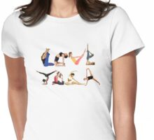 Love Yoga Womens Fitted T-Shirt