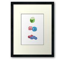 Bud/Thorn/Bouquet Pokemon Framed Print