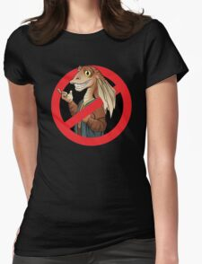 Anti-Jar Jar Womens Fitted T-Shirt