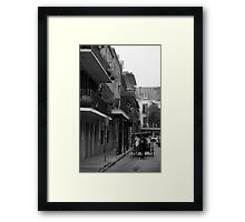 Carriage and Balconies Framed Print