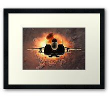 Skywarp Framed Print