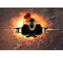 Skywarp Photographic Print