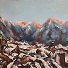 Sunrise in the Alps by Vanessa Zakas