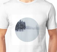 The earth lay white under the night sky Unisex T-Shirt