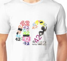 Variations on The Answer Unisex T-Shirt