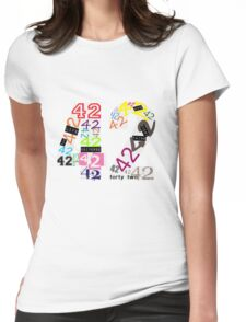 Variations on The Answer Womens Fitted T-Shirt