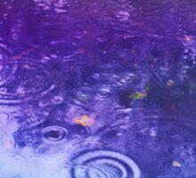 Between The Raindrops Sticker