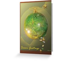 Ring The Bells That Still Can Ring ........Australian Christmas series Greeting Card