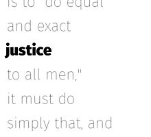 Equal and exact justice Spooner quote by libertynerd