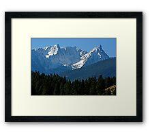 Beautiful Trapper Peak Framed Print
