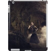 Mystic fantasy girl in a cave iPad Case/Skin