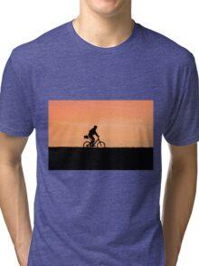 Patrolling The Levee Tri-blend T-Shirt