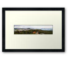 Albany Panorama Framed Print