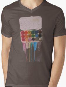 messy painter Mens V-Neck T-Shirt
