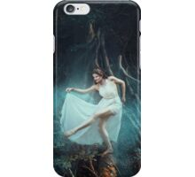 Dancing fairy fantasy girl long hair iPhone Case/Skin
