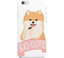 Orange Pomeranian iPhone Case/Skin