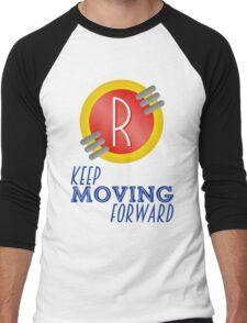 Keep Moving Forward - Meet the Robinsons Men's Baseball ¾ T-Shirt