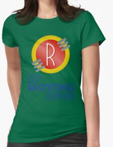 Keep Moving Forward - Meet the Robinsons Womens Fitted T-Shirt