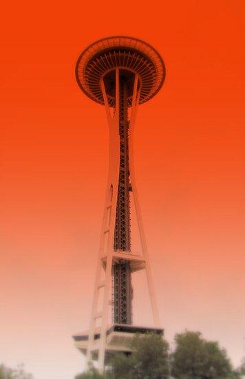 Space Needle, Seattle Washington by essenceoview