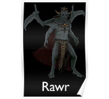 Rawr - Vampire Lord Poster