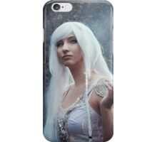 Elven girl with butterfly iPhone Case/Skin