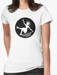 Malice Magazine Logo Womens Fitted T-Shirt