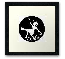 Malice Magazine Logo Framed Print
