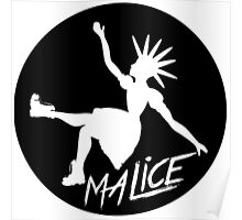 Malice Magazine Logo Poster
