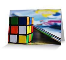 Rubix Cube Greeting Card