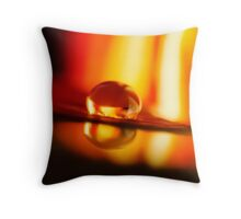 Parting My Soul Throw Pillow