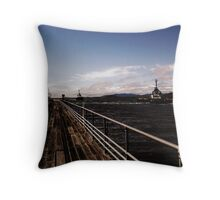 the Bowen Pier Throw Pillow