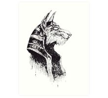 Lord Protector of the Underworld Art Print