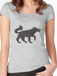 Direwolf Women's Fitted Scoop T-Shirt