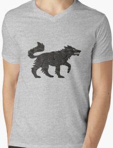 Direwolf Mens V-Neck T-Shirt