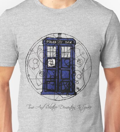 Time And Relative Demention In Space Unisex T-Shirt