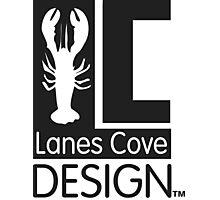 Classic LCD Logo Pattern Photographic Print