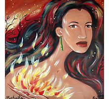 Mahuika - Fire Goddess Photographic Print